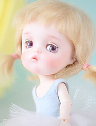 cheap -OuenElfs Girl Doll Ball-joined Doll / BJD Blythe Doll Baby Girl 6 inch Full Body Silicone - Cute Exquisite High-Temperature Resistant Fibre Wigs Kid's Girls' Toy Gift