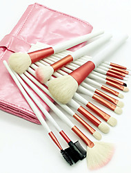 cheap -Professional Makeup Brushes Makeup Brush Set 18pcs Eco-friendly Professional Soft Full Coverage Comfy Goat Hair Brush Wooden / Bamboo for