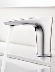 cheap -Bathroom Sink Faucet - Touch / Touchless / Sensor Chrome Centerset Hands free One HoleBath Taps