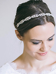 cheap -Alloy Headbands / Headpiece with Crystal / Rhinestone 1 Piece Wedding / Special Occasion Headpiece