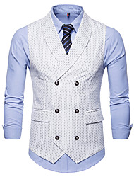 cheap -Cotton / Polester / Cotton Blend Business / Daily Wear Work / Casual Round Dots / Classic / Vintage