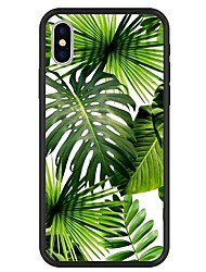 cheap -Case For Apple iPhone X / iPhone 8 Plus / iPhone 8 Pattern Back Cover Plants / Cartoon / Tree Hard Acrylic
