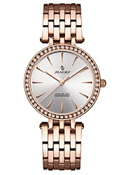 cheap -Women's Dress Watch Wrist Watch Diamond Watch Japanese Japanese Quartz Black / Silver / Rose Gold 30 m Water Resistant / Waterproof Casual Watch Analog Ladies Luxury Fashion - Black Silver Rose Gold