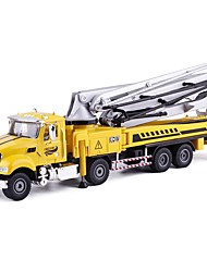 cheap -1:50 Toy Car Construction Vehicle Construction Truck Set Crane City View Exquisite Metal Mini Car Vehicles Toys for Party Favor or Kids Birthday Gift 1 pcs
