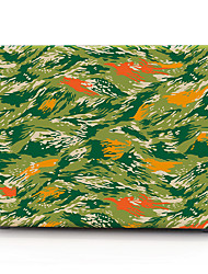 cheap -MacBook Case for Air Pro Retina 11 12 13 15 Camouflage Color PVC Laptop Cover Case for Macbook New Pro 13.3 15 inch with Touch Bar