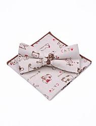 cheap -Unisex Basic Bow Tie - Print Cat, Bow / Suits