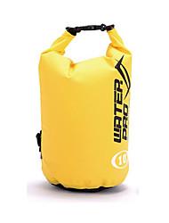 Недорогие -10 L Водонепроницаемый сухой мешок Легкость Дожденепроницаемый Пригодно для носки для Плавание На открытом воздухе Пляж