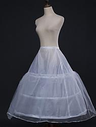 abordables -Mariage / Soirée / Fête Déshabillés Polyester Longueur de robe Jupons amincissants / Long avec