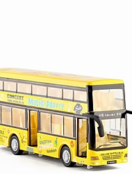 cheap -1:32 Toy Car Double-decker Bus Bus Metal Alloy Mini Car Vehicles Toys for Party Favor or Kids Birthday Gift 1 pcs