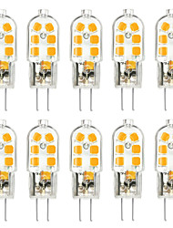 cheap -10pcs G4 3W 200-300lm 12LED LED Bi-pin Lights 2835SMD Warm White Cool White Natural White Led Corn Bulb Chandelier Lamp AC 12V