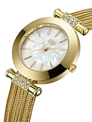cheap -ASJ Women's Sport Watch Dress Watch Gold Watch Japanese Quartz Ladies Cool Analog Gold Silver / One Year / One Year / SSUO AG4