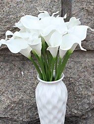 cheap -Artificial Flowers 1 Branch Single Rustic Calla Lily Floor Flower