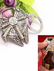 cheap -Millennium Falcon Spaceship Metal Bottle Opener Key Rings Key Chain