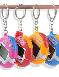cheap -Random Color Electronic Pets Handheld Game Player Story Machine Novelty With Keychain Digital Handheld Plastics Boys' Girls' Toy Gift 1 pcs