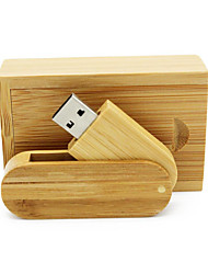 cheap -Ants 4GB usb flash drive usb disk USB 2.0 Wooden / Bamboo Rotating