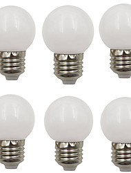 cheap -6pcs 2 W LED Globe Bulbs 80 lm E26 / E27 G45 8 LED Beads SMD 2835 Decorative Christmas Wedding Decoration Warm White Cold White 220-240 V / RoHS