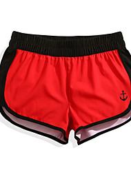 cheap -Women's Swim Shorts Swim Trunks Elastane Board Shorts Bottoms Breathable Quick Dry Surfing Beach Watersports Stars Summer / Micro-elastic