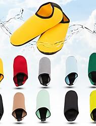 cheap -Men's Women's Water Socks Aqua Socks 1.5mm Pure Color Nylon Anti-Slip Yoga Swimming Diving Snorkeling Beach - for Adults