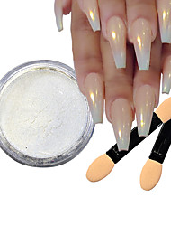 cheap -5pcs Artificial Nail Tips Glitter Powder For Fashionable Design nail art Manicure Pedicure Retro Wedding Party / Daily Wear