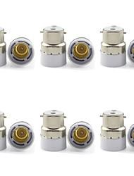Недорогие -b22 to e14 винт светодиодный галогеновый светильник лампочка адаптер адаптера адаптер лампы (6 шт)