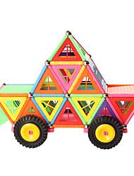 cheap -Magnetic Blocks Magnetic Sticks Magnetic Tiles Building Bricks 150 pcs Geometric Pattern Building Toys All Boys' Girls' Toy Gift / Kid's