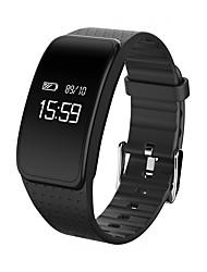 cheap -KUPENG A59 Unisex Smart Bracelet Smartwatch Bluetooth Waterproof Blood Pressure Measurement Touch Screen Calories Burned Long Standby Pedometer Call Reminder Activity Tracker Sleep Tracker Sedentary