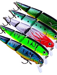 cheap -5 pcs Fishing Lures Hard Bait Crank Outdoor Sinking Bass Trout Pike Bait Casting Lure Fishing General Fishing Plastic