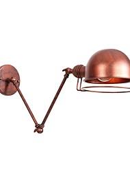 abordables -Design nouveau / Créatif LED / Rétro / Vintage Lumières de bras oscillant Bureau / Bureau de maison / Magasins / Cafés Métal Applique murale 110-120V / 220-240V 4 W