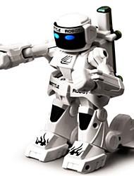 cheap -RC Robot Toy RC Vehicles / Access Control System Set 2.4G Plastics Mini / Remote Control NO