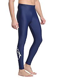 cheap -SBART Men's Dive Skin Leggings Bottoms SPF50 UV Sun Protection Breathable Diving / Quick Dry