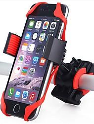 Недорогие -Крепление для телефона на велосипед 360 Вращающаяся Назначение Шоссейный велосипед Горный велосипед Велоспорт Пластик силикагель Черный Красный