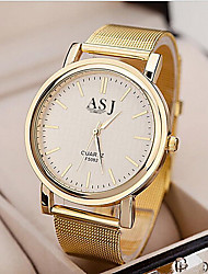 cheap -Women's Ladies Dress Watch Wrist Watch Gold Watch Classic Style Stainless Steel Gold Casual Watch Analog Charm Fashion - Golden One Year Battery Life / SSUO SR626SW