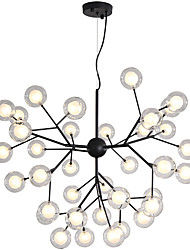 cheap -Novelty Chandelier Ambient Light Painted Finishes Metal Glass Creative, New Design 110-120V / 220-240V Bulb Included / G4