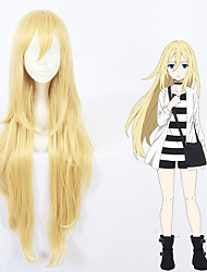 cheap -Angels of Death Rachel Gardner Ray Cosplay Wigs All 40 inch Heat Resistant Fiber Blonde Anime