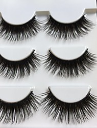 cheap -Eyelash Extensions False Eyelashes 6 pcs Best Quality Volumized Curly Fiber Event / Party Daily Wear Thick Natural Long - Makeup Daily Makeup Halloween Makeup Party Makeup Professional Trendy Cosmetic