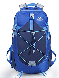 cheap -TOPSKY 28 L Hiking Backpack Breathable Outdoor Hiking Cycling / Bike Camping Red Blue / Yes