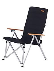 cheap -Naturehike Beach Chair Camping Chair Portable Ultra Light (UL) Foldable Ultra light Aluminium Nylon Core for 1 Fishing Beach Camping Autumn / Fall Spring Green Black