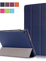 Недорогие -Кейс для Назначение Asus ASUS ZenPad 10 Z301ML / ASUS ZenPad 10 Z301MFL / ASUS ZenPad 10 Z301MF со стендом / Магнитный Чехол Однотонный Твердый Кожа PU