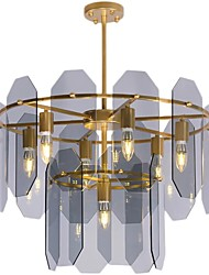 cheap -7-Light 62 cm Chandelier Metal Brass Modern 110-120V / 220-240V