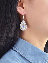 cheap -Women's Drop Earrings Cross Body Drop Lucky Ladies Basic Fashion Earrings Jewelry Blue For Daily Date 1 Pair