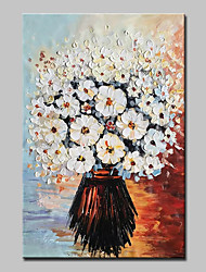 cheap -Mintura® Hand Painted Modern Abstract Knife Flowers Oil Painting on Canvas Wall Art Picture for Home Decor Ready To Hang