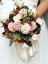"cheap -Wedding Flowers Bouquets Wedding / Special Occasion Polyester 7.87""(Approx.20cm)"