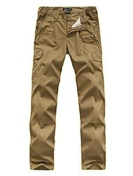 cheap -Men's Hiking Pants Hiking Cargo Pants Tactical Pants Outdoor Breathable Quick Dry Wear Resistance Cotton Pants / Trousers Bottoms Hiking Outdoor Exercise Multisport Black Brown Khaki S M L XL XXL