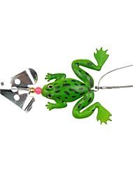 Недорогие -1 pcs Металлическая наживка Рыболовная приманка Жесткая наживка Легко для того чтобы снести Легкий вес Легкий и удобный Тонущие Bass Форель щука / Морское рыболовство / Ловля на приманку