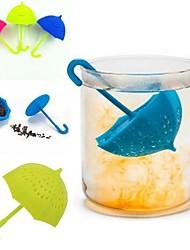 Недорогие -Зонтик чая заварки силиконовый чай sttrainer вкладыш фильтра ситечко