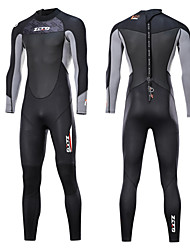 cheap -ZCCO Men's Full Wetsuit 3mm SCR Neoprene Diving Suit Thermal / Warm Quick Dry Anatomic Design Long Sleeve Back Zip - Swimming Diving Water Sports Spring &  Fall Summer / Stretchy / Stretchy