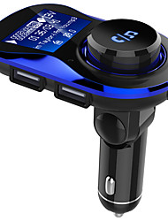 cheap -OJADEBC28  Bluetooth 4.2 Bluetooth Car Kit Handsfree Wireless FM Transmitter Car MP3 Player with 1.4 inch Large LCD Screen Support TF Card/U Disk