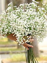 cheap -Artificial Flowers 1 Branch Single Wedding Baby Breath