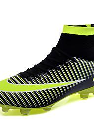 abordables -Homme Chaussures de confort Faux Cuir / Polyuréthane Automne Chaussures d'Athlétisme Football Noir / Jaune / Vert / Athlétique