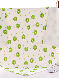 Недорогие -Новорожденный Универсальные Активный Повседневные Фрукты Рисунок Одеяло Белый Один размер